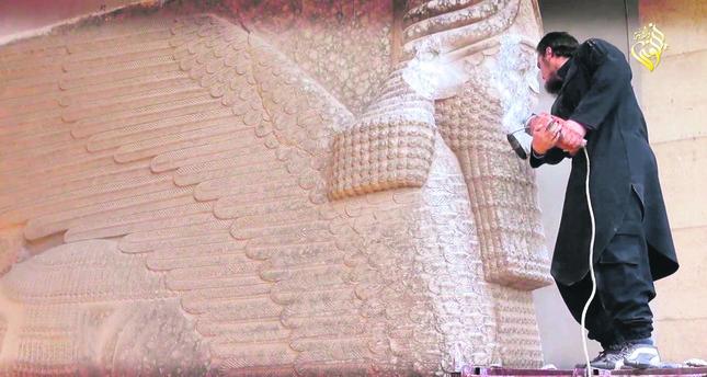 ISIS militants bulldoze ancient city of Nimrud