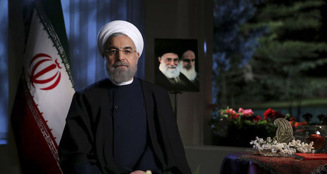 Iran president condemns Saudi intervention in Yemen