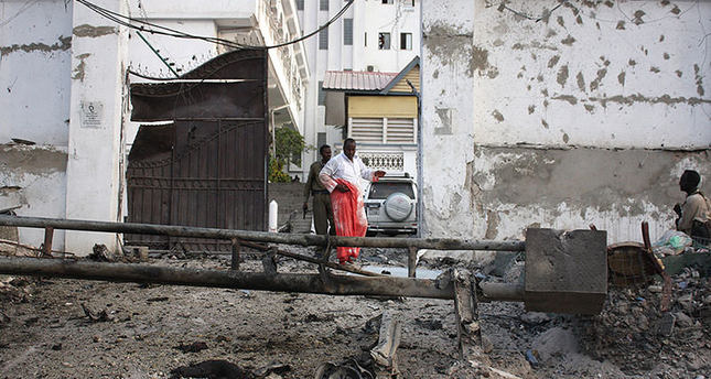 At least nine dead as militants attack Mogadishu hotel