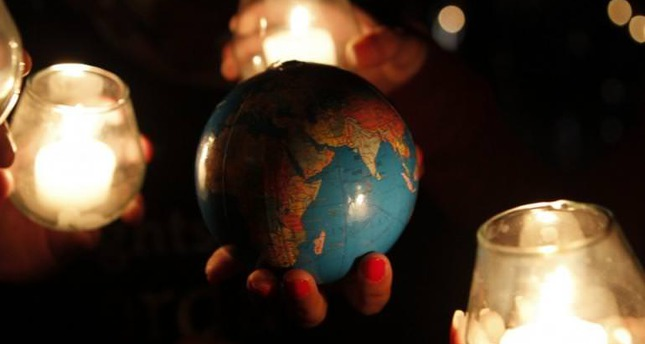 Earth Hour marked throughout the globe