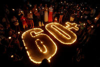 Millions of people around the world have taken part in the annual Earth Hour organised by conservation group WWF, which sees a string of well-known sights plunging into darkness. This year C