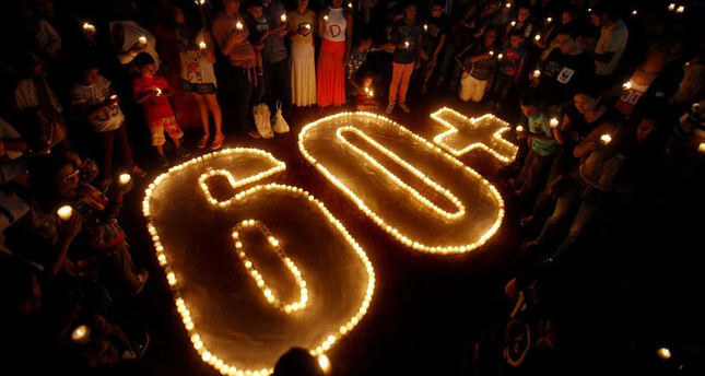 World plunges into darkness to mark Earth Hour