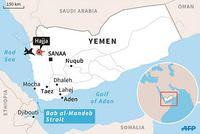 At least 40 people were killed Monday in an airstrike carried out by a Saudi-led coalition on a refugee camp in Yemen's western Hajjah province, a security source has said.