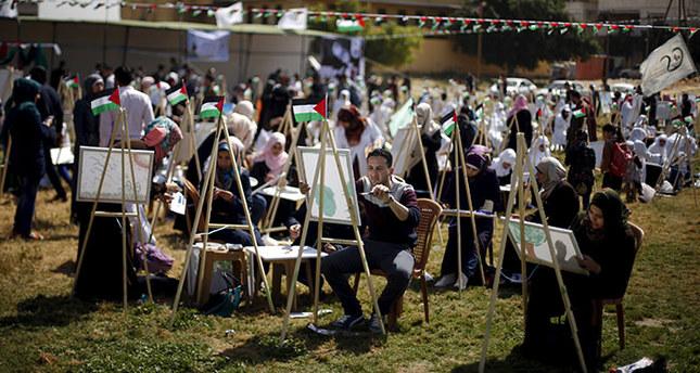 Palestinians celebrate 'Land Day'