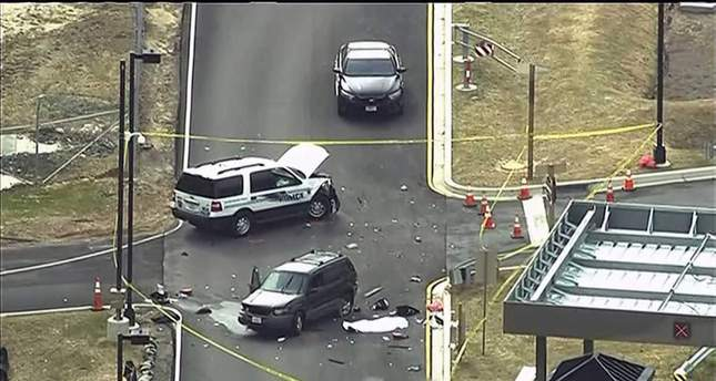 Shooting outside NSA headquarters leaves one dead