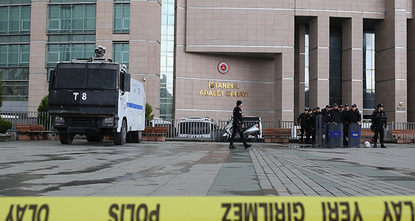 The Turkish prosecutor held during Tuesday's Istanbul courthouse hostage crisis has died in hospital where he was being treated, after he was shot twice in the head and three times in his body by...