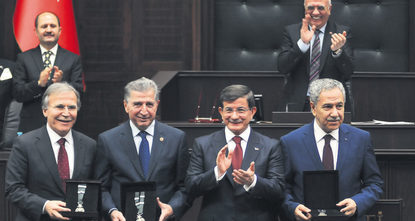 Prime Minister Ahmet Davutoğlu, speaking at the Justice and Development Party (AK Party) parliamentary group meeting yesterday, thanked party members who will not be able to be deputy candidates...