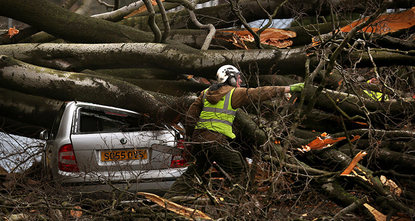 At least nine people have been killed in heavy winds that have battered Germany, Austria, Switzerland and the UK, police said early on Wednesday.  German Press Agency reported that the death toll...