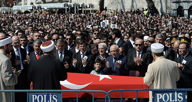Funeral held for the murdered prosecutor