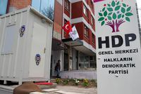 Gunshots were been fired at the pro-Kurdish Peoples's Democratic Party (HDP) headquarters located in Çankaya district of Ankara o