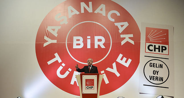 Main opposition CHP announces election manifesto