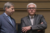 German Foreign Minister Frank Walter Steinmeier said on Friday that he avoids using the 'genocide' label to describe 1915 events regarding Armenians.