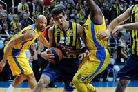 Fenerbahçe Ülker star Andrew Goudelock declared after his side's 3-0 quarter-final sweep of reigning champions Maccabi Tel Aviv that no team in Europe can beat the Istanbul club.  History was...