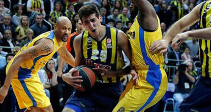 Turkish basketball heavyweights Fenerbahce Ülker narrowly beat Maccabi Electra 75-74 in the overtime of the playoff series' third match in Tel Aviv and qualified for the Final Four phase in Turkish...