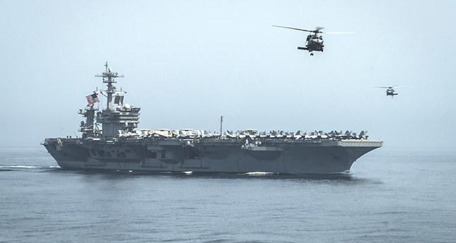 US Navy sends carrier towards waters off Yemen
