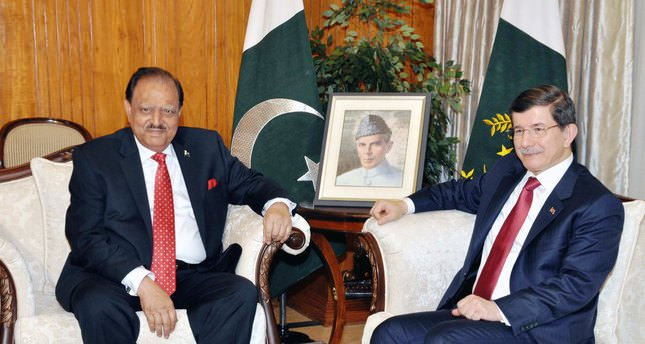 Pakistani president: Together with Turkey, we can strengthen regional peace