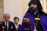 Turkey's Minister of European Union Affairs and Chief Negotiator Volkan Bozkır on Friday attended the ceremony organized by the Istanbul Armenian Patriarchate held in honor to commemorate those who...