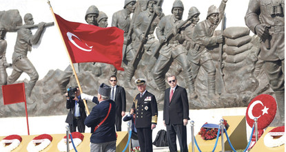 Thousands of Australians, New Zealanders and Turks and dozens of dignitaries from around the world have gathered on Turkey's Gallipoli Peninsula to mark the 100th anniversary of one of the...