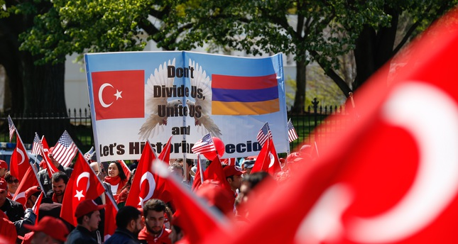 Washington rallies urge Turkey, Armenia reconcilement