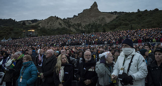 Thousands attend Anzac dawn service in Gallipoli