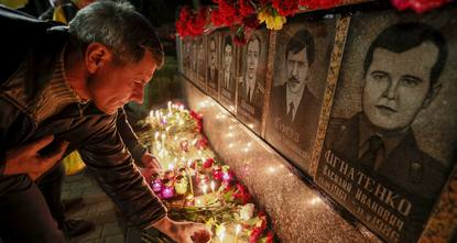 Ukraine marked 29 years since the Chernobyl nuclear disaster on Sunday, placing flowers and laying candles at the foot of a monument in Slavutych, a town 50 kilometres (30 miles) from the plant....