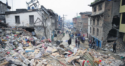 Nepal urged countries to send aid to help it cope with the aftermath of a devastating earthquake that killed nearly 1,400 people, a toll predicted to rise as rescuers used their hands to dig for...