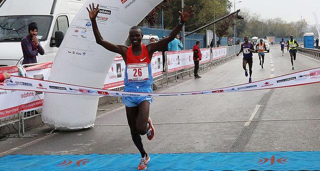 Kenyan athletes dominate Istanbul Half Marathon