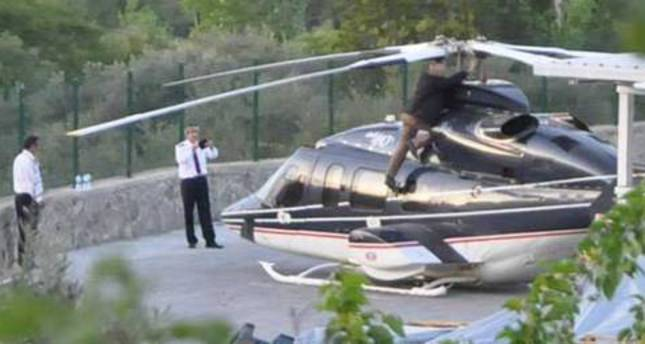 Helicopter carrying Turkish businessman has near miss