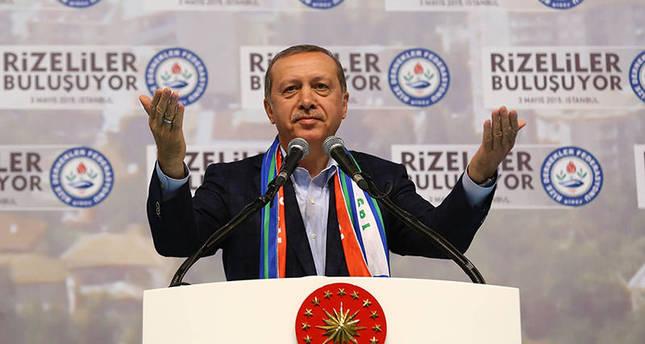 President stresses necessity of presidential system