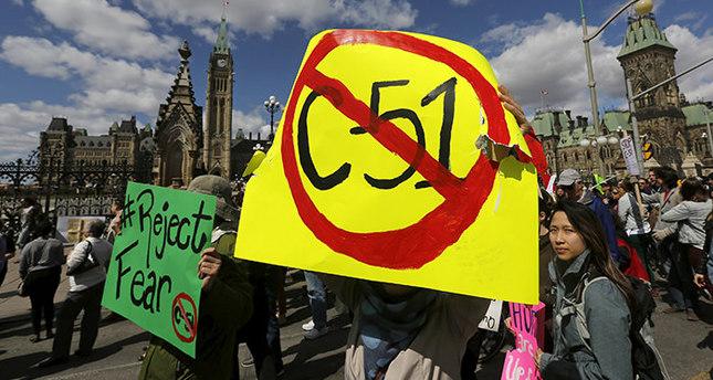 'Canada's anti-terror bill C-51 targets Muslims'