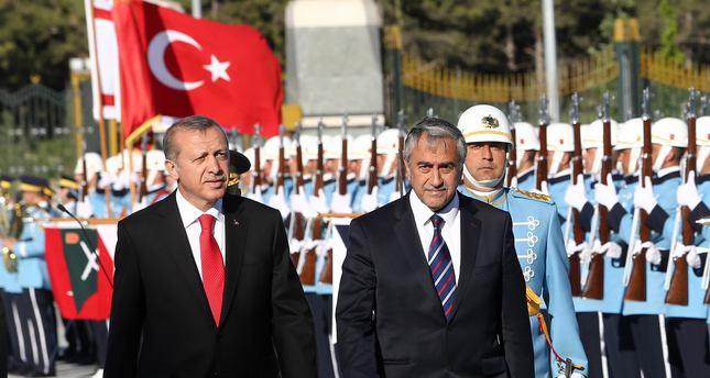 Turkish Cypriot president arrives in Ankara