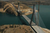 Turkey's third-longest suspension bridge, the Nissibi Euphrates Bridge, has been completed after 37 months of work and opened with a ceremony attended by President Recep Tayyip Erdoğan. The...