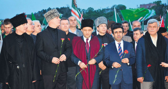 Circassians rally on the anniversary of exile