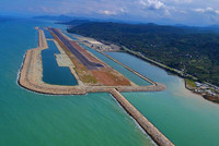 The first airport built on an artificial island became operational in the Ordu province on Friday. At a ceremony, attended by President Erdoğan and Prime Minister Davutoğlu, held at the newly...