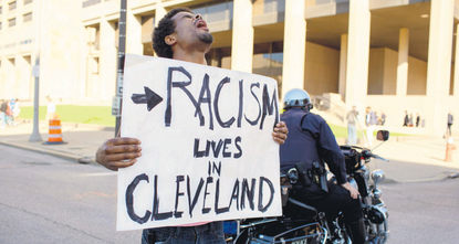 A Cleveland police officer was found not guilty on Saturday in the shooting deaths of an unarmed black man and a woman after a high-speed car chase in 2012, one in a series of cases that have...