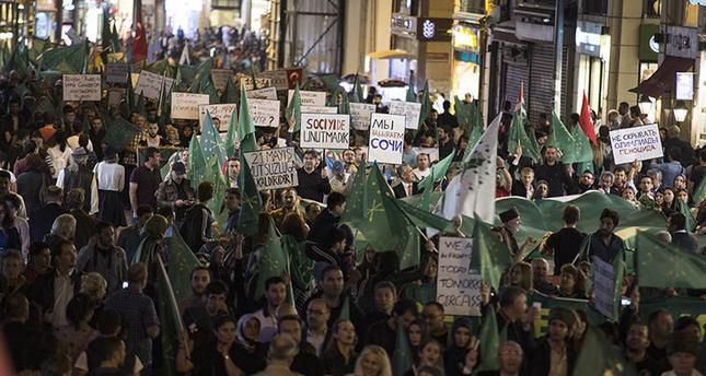 Circassians continue protests against Russia