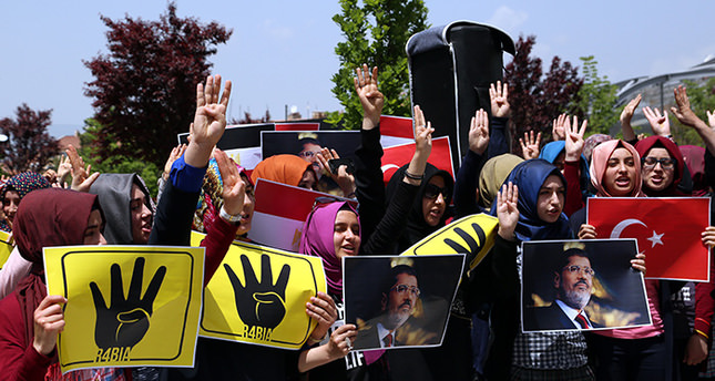 'Turkey is the only country that stood by Morsi'
