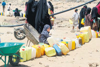 Almost two-thirds of the population of war-torn Yemen has no access to clean water, two months into the Saudi-led air campaign against rebel forces, Britain-based relief agency Oxfam said Tuesday....