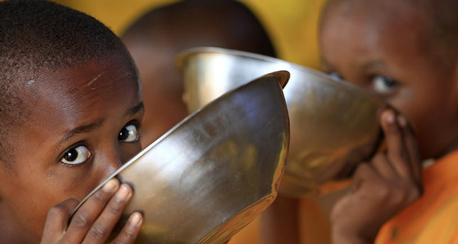 World hunger rate fallen by 50 percent in last 25 years