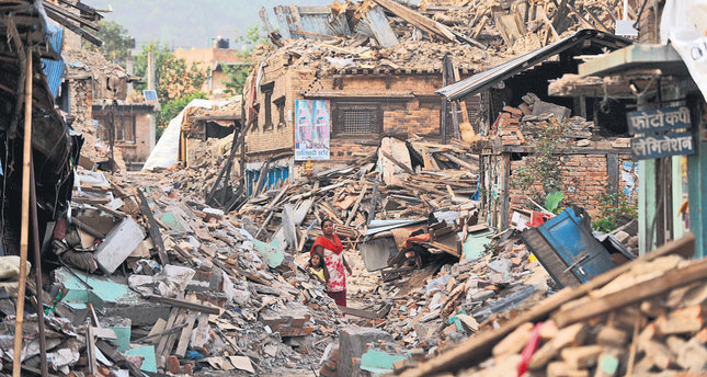 Nepal remains where it fell