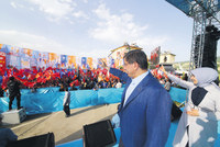 Prime Minister Ahmet Davutoğlu, as part of his plan to hold rallies in all of Turkey's 81 provinces, visited the eastern province of Tunceli, a predominantly Alevi region, yesterday where he...