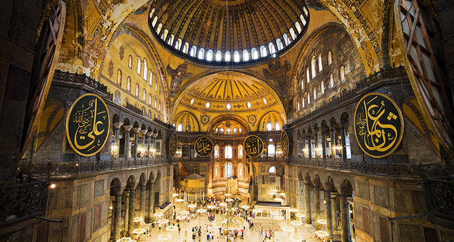 'Conversion of Hagia Sophia not on the agenda'