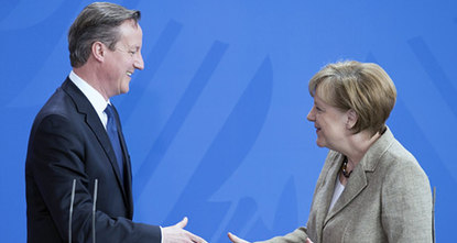 Chancellor Angela Merkel vowed Friday Germany would play a