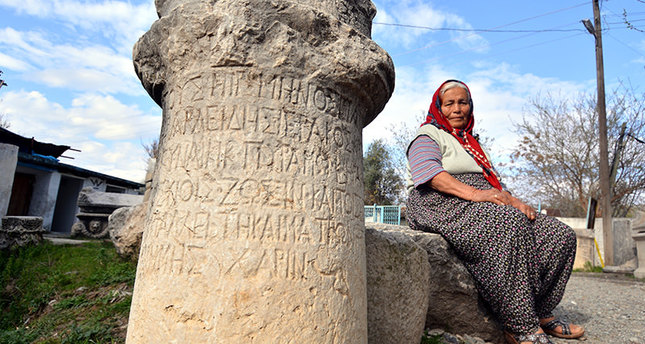 Turkish villager proud custodian of Roman artifacts