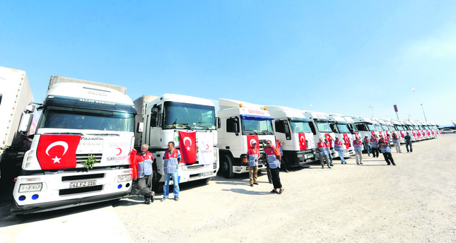 Syrian Turkmens appreciate Turkish aid, ask for more assistance