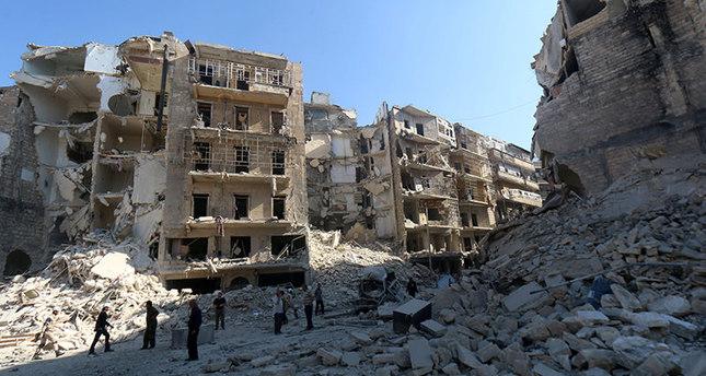 Assad regime claim 54 lives in Aleppo