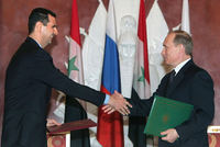 President Vladimir Putin said at the start of talks with Syria's foreign minister Walid Muallem on Monday that there was no change in Russia's support for the Syrian leadership.