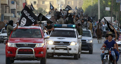 A year after the self-proclaimed Islamic State of Iraq and Sham (ISIS) declared a caliphate on territory seized in Iraq and Syria, the al Qaeda splinter group faces military pressure from a...