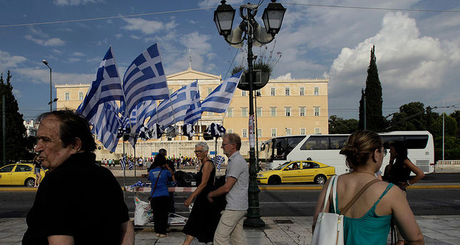 Greece's July 5 Referendum ballot, question revealed