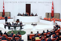 None of the candidates received the required number of 367 votes for the first and second rounds of the Parliament Speaker Elections as the Grand National Assembly of Turkey convened on Tuesday to...